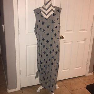 Lane Bryant Side Tie Dress 18/20